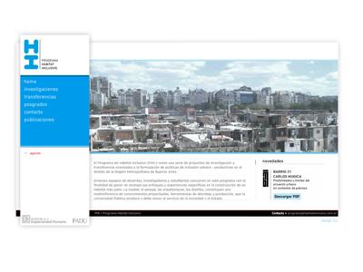 HI Programa Habitat inclusivo